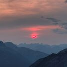 Pink Sun by James Anderson