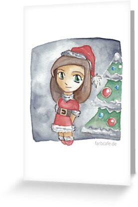 Cute Christmas von farbcafe