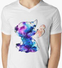 Stitch Men's V-Neck T-Shirt