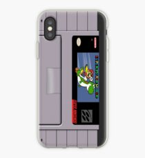 Super Mario World Cartridge Iphone Case iPhone Case