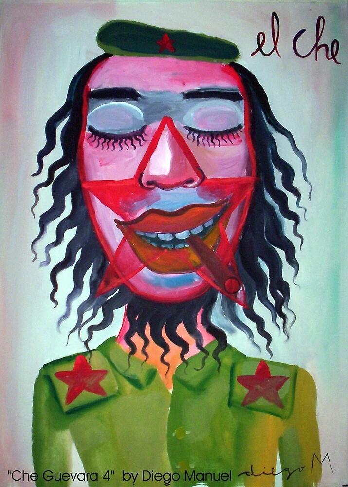 Che Guevara by Diego Manuel by Diego Manuel Rodriguez