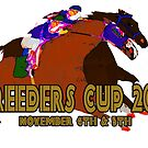 Breeders Cup 2016 horse racing design by Ginny Luttrell
