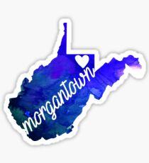 Morgantown Sticker