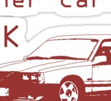 My Other Car is a Brick - 740 Wagon Sticker