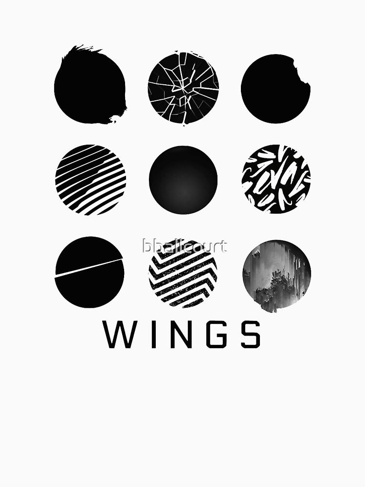 BTS- Wings - Alle Logos von bballcourt