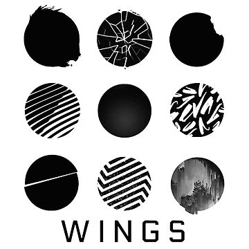 BTS- Wings - All Logos by bballcourt