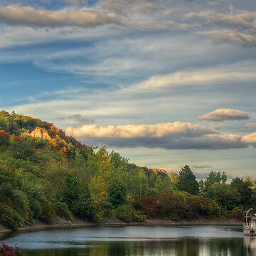 Sun on Cathedral Bluffs by Jessticulate