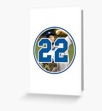 Clayton Kershaw Dodgers 22 Greeting Card