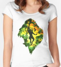 Ape Man Women's Fitted Scoop T-Shirt