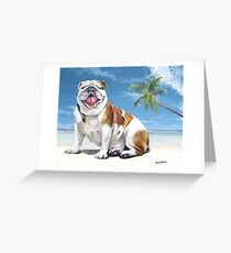 Norma Jean, The Key West Puppy Greeting Card