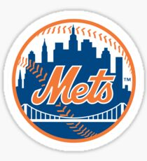 New York Mets Logo Sticker