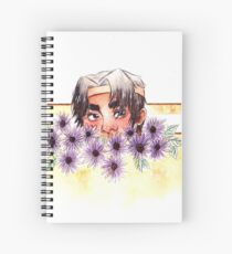 The Yellow Paladin Spiral Notebook