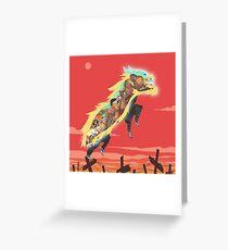 Lion Dance Greeting Card