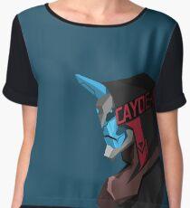 Cayde-6 PopShot Women's Chiffon Top