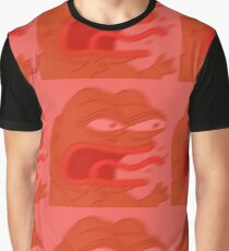 Angry Pepe Graphic T-Shirt