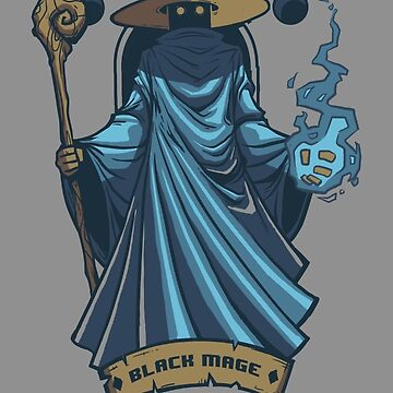 Black Mage by drawsgood