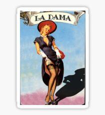 Loteria: La Dama Sticker