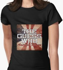 The Guess Who Carl Dixon Bachman Cummings 15 Womens Fitted T-Shirt