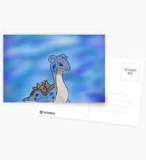 Lapras Pokemon Postcards
