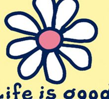 Life Is Good License Plate Sticker