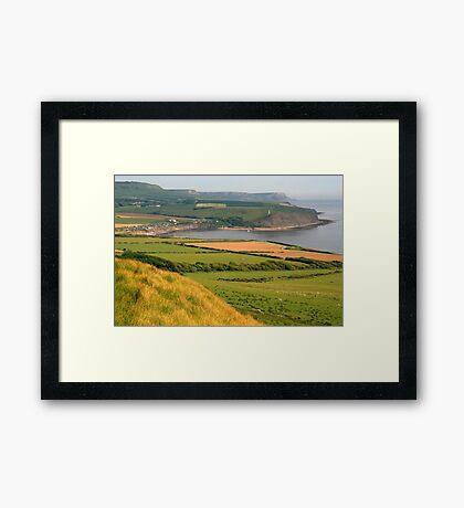 Purbeck Landscape Framed Print