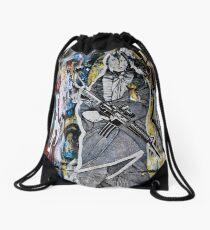American Indian Drawstring Bag
