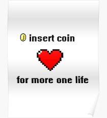 8 bits life Poster