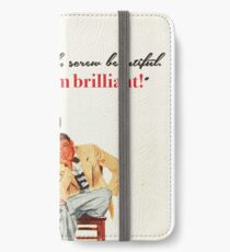 Brains & Beauty iPhone Wallet/Case/Skin