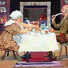 Jack Sprat Vintage Mother Goose Nursery Rhyme by Marian Cates