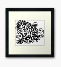 play video games Framed Print