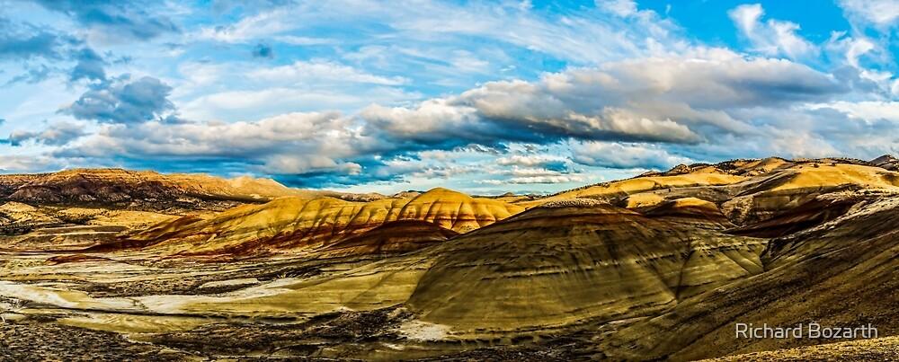painted hills oregon by Richard Bozarth