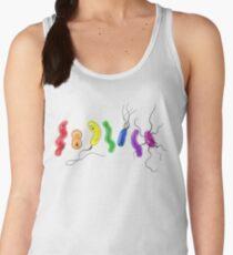 Pride Rainbow Bacteria Women's Tank Top