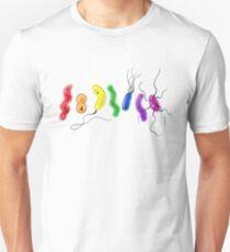 Pride Rainbow Bacteria Unisex T-Shirt
