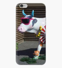 Painted Cow on Holiday - at Floriade iPhone Case