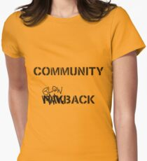 Misfits - Community Blowback Women's Fitted T-Shirt