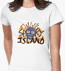 unheimliche Insel Tailliertes T-Shirt