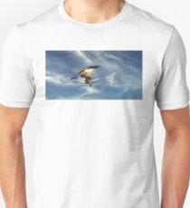 Osprey Flight. Photo Art, Prints, Gifts. Unisex T-Shirt