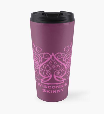 Wisconsin Skinny Ace of Spades  Travel Mug