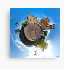 Walled City Market, Guildhall Square, Derry Canvas Print