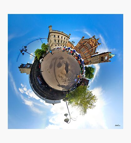 Walled City Market, Guildhall Square, Derry Photographic Print