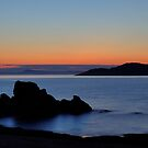 Sunset at Milsey Bay by James Anderson