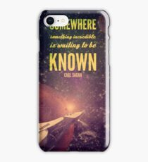 Space Exploration (Carl Sagan Quote) iPhone Case/Skin