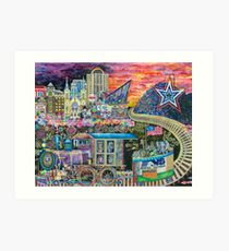 Noke Train 2016 by Brook Ludy Art Print