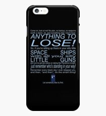 The Doctor's Speech at the Pandorica iPhone 6s Plus Case