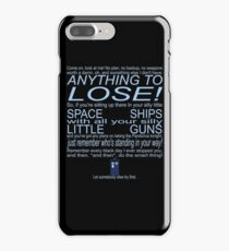 The Doctor's Speech at the Pandorica iPhone 7 Plus Case