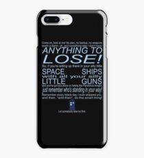 The Doctor's Speech at the Pandorica iPhone 8 Plus Case