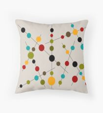 Sticks and Bubbles Throw Pillow