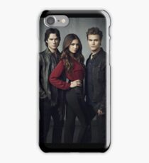Salvatore Brother and Elena The Vampire Diaries iPhone Case/Skin