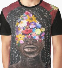 Girl In The Braids Graphic T-Shirt