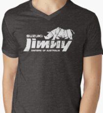 Suzuki Jimny Owners of Australia - Grunge Rhino Mono Reversed T-Shirt